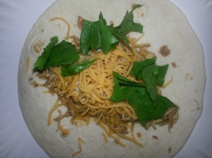 ranch chicken taco